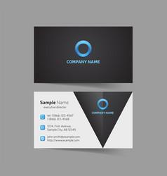 Business cards design set vector
