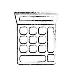 Calculator financial economy equipment image vector