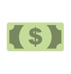 dollar banknote money cash currency vector image