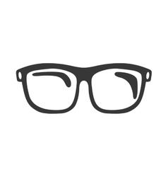 Glasses fashion loon icon vector