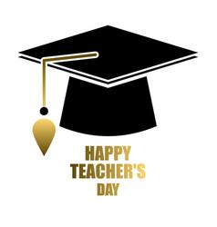 happy teacher s day vector image vector image