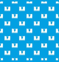 men brief pattern seamless blue vector image
