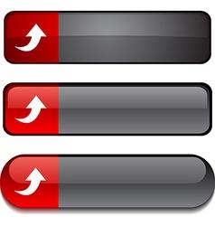 Upload button set vector