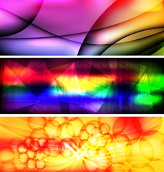 Abstract background banner 1 vector image vector image