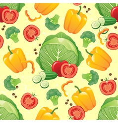 green vegetables seamless vector image vector image