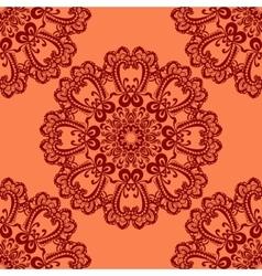 abstract circular seamless pattern vector image
