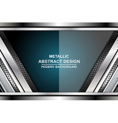 business metal backgrounds design vector image vector image