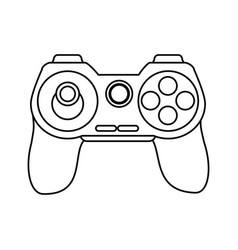 Controller videogames related icon image vector