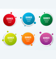 Creative of colorful circle vector