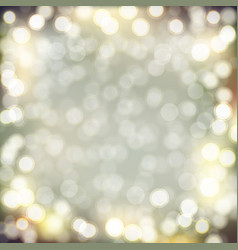 golden bokeh background vector image