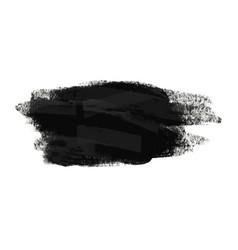 grunge brush stoke texture background vector image
