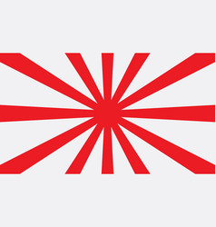 Red sun japan graphic background vector