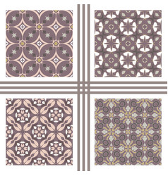 seamless texture collection vector image