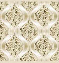seamless vintage pattern seamless border in vector image