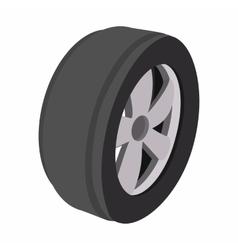 Wheel cartoon vector
