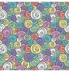 Pop art retro seamless pattern vector image