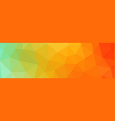 abstract gradient low poly vector image