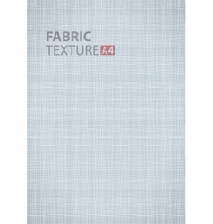 Gray thread fabric pattern texture A4 background vector image