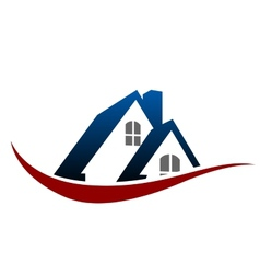 House rosymbol vector