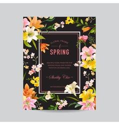 Invitation Wedding Baby Shower Card vector