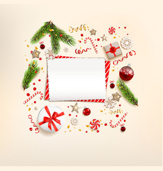 light top view decorations vector image