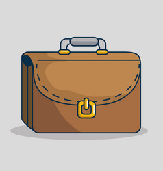 Portfolio handmade drawn icon vector