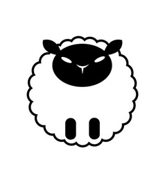 Sheep solid vector