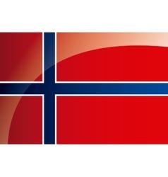 norway flag vector image
