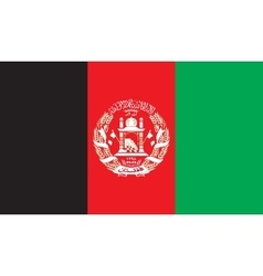 Afghanistan flag image vector image vector image