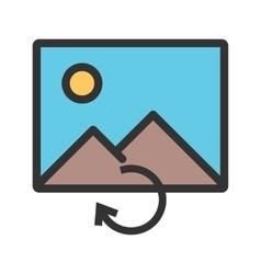 Reload image vector