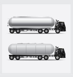 cargo trucks transportation vector image