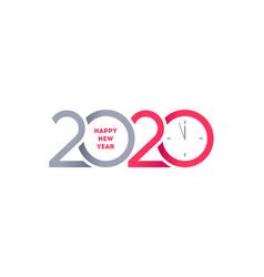 2020 new year logo vector