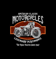 American classic vector