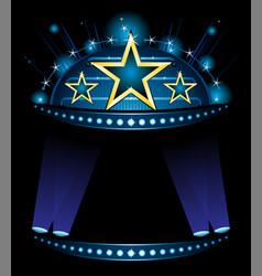 Announcement great entertainment show vector