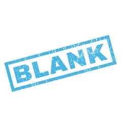 Blank Rubber Stamp vector