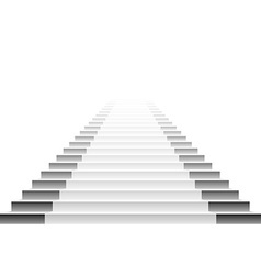 Detailed of white stairs eps10 vector