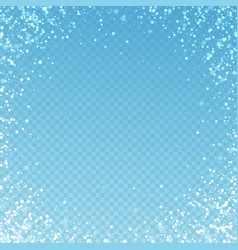 magic stars sparse christmas background subtle fl vector image