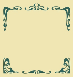Secession frame vector