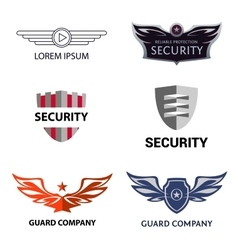 Template logo for security organization vector