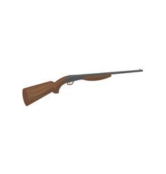 hunting shotgun isolated icon vector image vector image