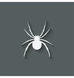 spider design element vector image vector image