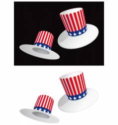 usa hat vector image