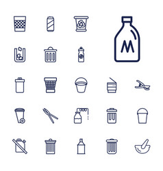 22 can icons vector