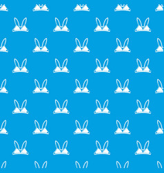 Brassiere concept pattern seamless blue vector