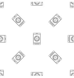 menstrual mobile pattern seamless vector image