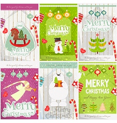 Merry Christmas - Happy New Year vector image