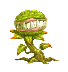 Monster plant vector
