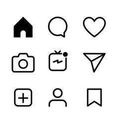 Social media icon user icon mobile phone social vector