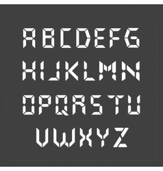 Calculator digital text vector image