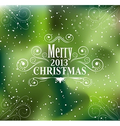Christmas and new year Themed frame vector image